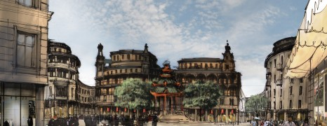 Central townplanning for Shantou