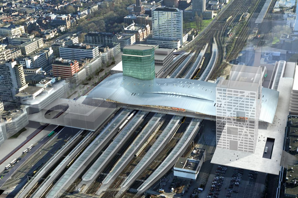 #D2 Utrecht City Central Station